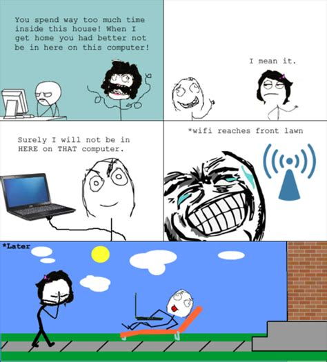 On The Computer Meme - meme comic computer loophole funny stuff fuh huh