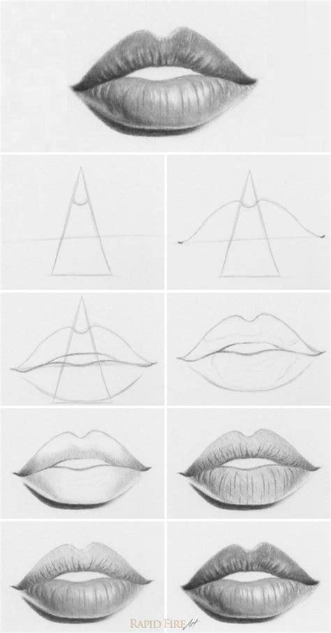6 Drawing Techniques by M 225 S De 25 Ideas Incre 237 Bles Sobre Dibujar Labios En