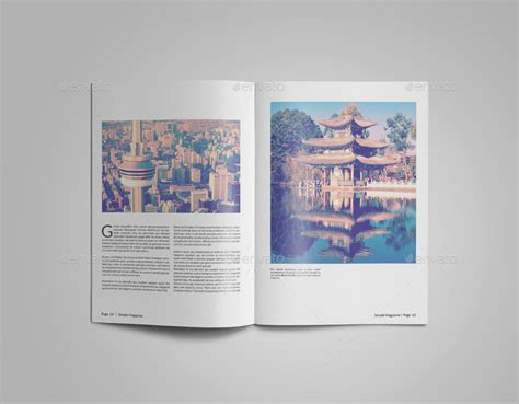 simple magazine template simple magazine template by alhaytar graphicriver