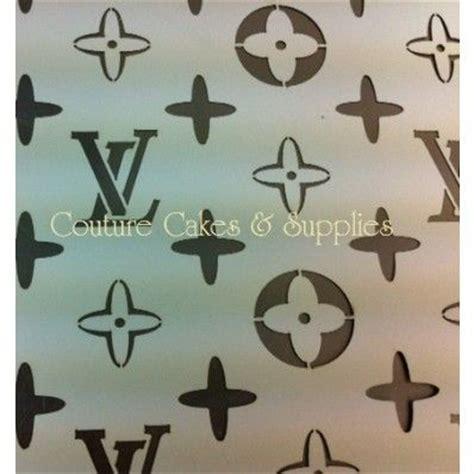 lv pattern stencil louis vuitton stencil stencil patterns pinterest