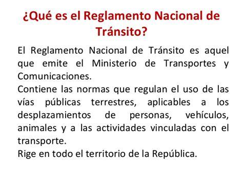 puntos del reglamento de trnsito aplicables en 2016 reglamento de transito 2016 peru ceneresnikcom reglamento