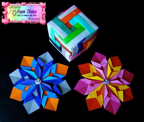 Colorful Origami - origami maniacs colorful mandala