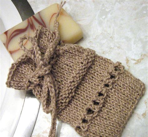 Soap Saver Sack By Arly Knitting Pattern