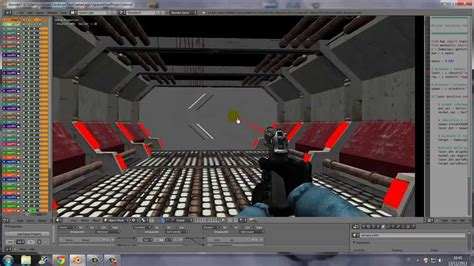 python tutorial blender game engine blender game engine laser point fps script python