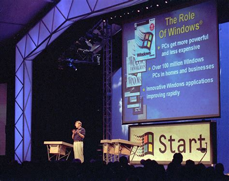Windows Vista Launch Bill Gates Speech 4 The One Where We Find Out What It Actually Does by Windows 95 Was A Milestone By Bill Gates Like Success