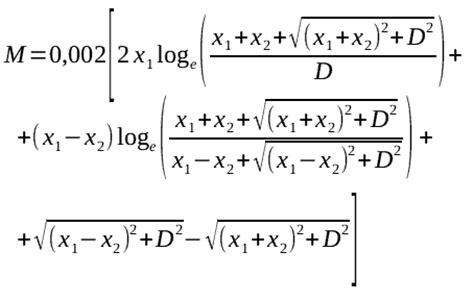 formula for loop inductance coil32 help