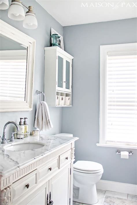 25 decor ideas that make small bathrooms feel bigger toilets paint colors and favorite paint