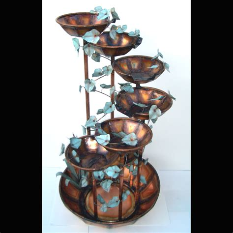 copper fountains selection handmade by roberto copper