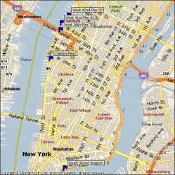 Map Of New York Waterways by Lady Gaga Map Of Manhattan New York