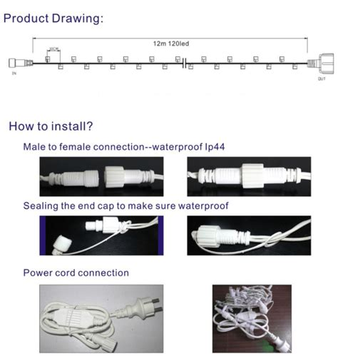how to connect christmas lights led 5mm icicle christmas lights manufacturer whole sales