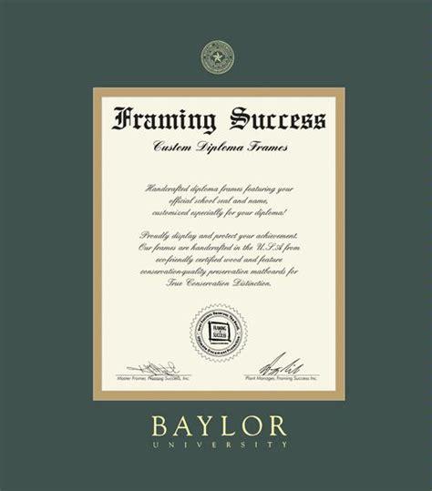 Villanova Mba Diploma Size For Frame by Custom Diploma Frames Certificate Frames Framing