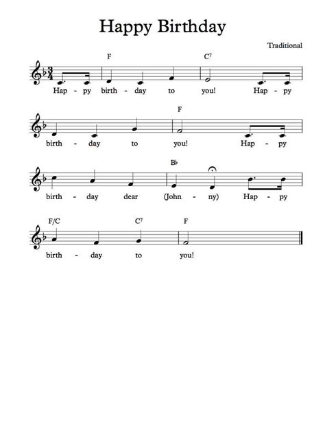 printable happy birthday sheet music alto sax free sheet music free lead sheet happy birthday to you