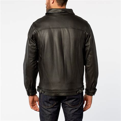 Fall 2007 Leather Jackets by Glove Leather Jacket Black S Fall Leather Jackets