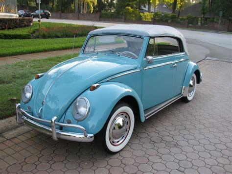 volkswagen buggy blue vintage powder blue on white vw bug convertible with white