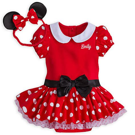 minnie mouse costume bodysuit for baby