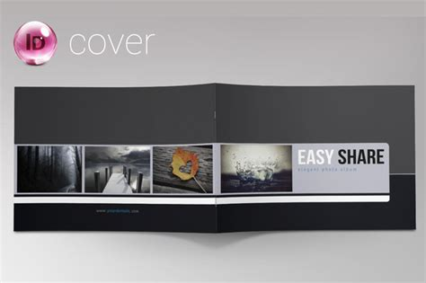 indesign photo album portfolio brochure templates on