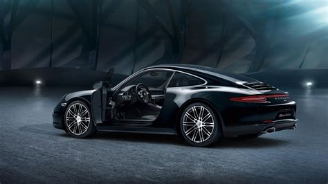 porsche black 2016 2016 porsche 911 carrera black edition