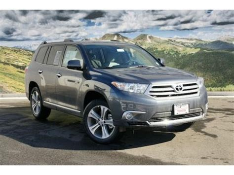 2011 Toyota Highlander Limited Specs 2011 Toyota Highlander Limited 4wd Data Info And Specs