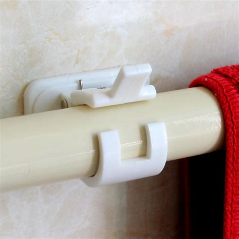 self adhesive curtain hooks aliexpress com buy 2pcs self adhesive type bracket for