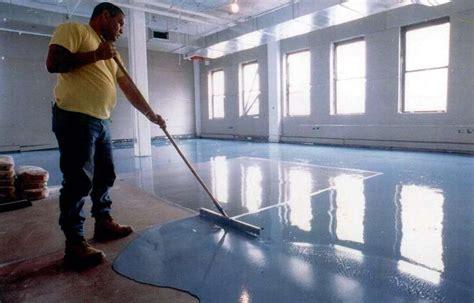 High Build, Seamless Epoxy Floor Resurfacer