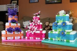 square diaper cake how to make youtube