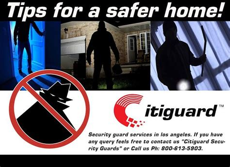 security guard company los angeles citiguard tips for
