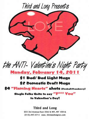 anti valentines day nyc anti s in nyc murphguide nyc bar guide