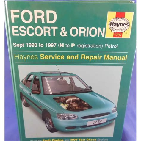 ford escort orion petrol sept 90 00 h to x haynes publishing service manual ford escort orion petrol sept handbok ford 214 rebro citiboard