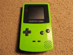green gameboy color cc10gaming all generation gaming boy collection
