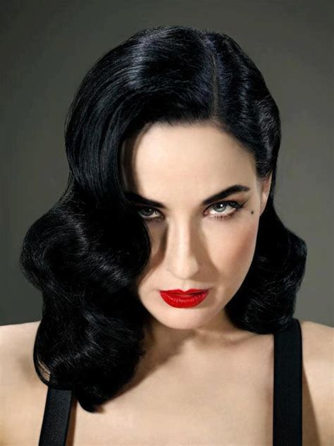 everyday retro hairstyles pinned with pinvolve ilovemakeup pinterest dita von