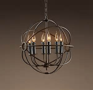Pewter Crystal Chandelier Foucault S Orb Chandelier 18 Quot
