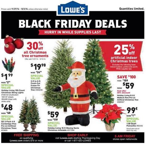 black friday deals lowe s blackfriday 2014 ad