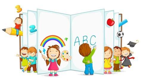 clipart bambini a scuola primaria