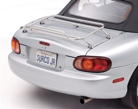 Sports Car Luggage Rack by Surco Removable Trunk Rack Luggage Rack