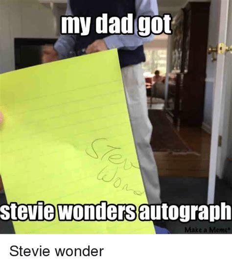 Dad Reading Newspaper Meme - stevie wonder funny memes motorcycle review and galleries