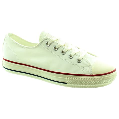 white converse shoes converse high line lace shoes in white in white