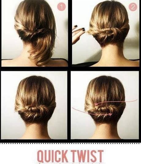 easy and quick daily hairstyles quick upstyles for long hair