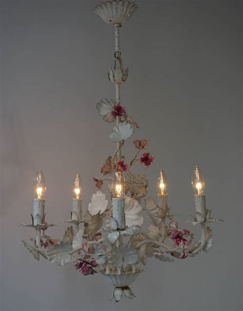 Flower Pendant Chandelier Italian Flower Chandelier For Sale At 1stdibs