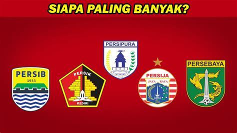 inilah  klub  gelar juara liga indonesia terbanyak
