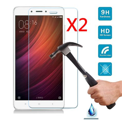 03mm 9h Tempered Xiaomi Redmi Note 4 Glass Clear Kingkong Front Cover 2pcs 9h anti scratch tempered glass screen protector for