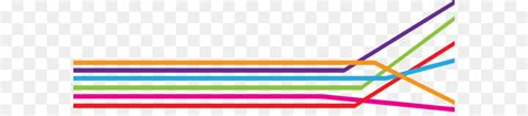 colorful lines line point angle colorful lines png 7016 2078