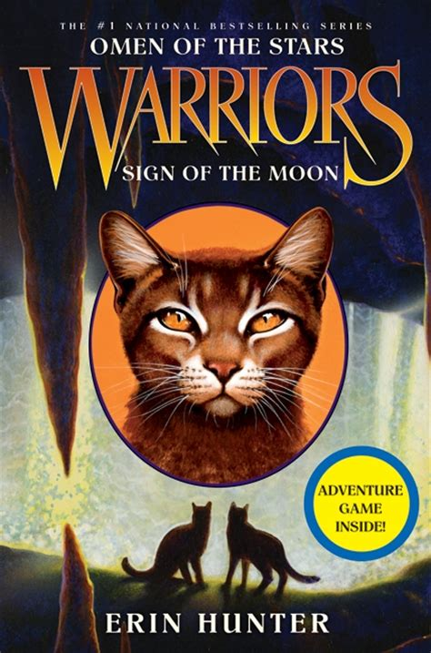Novel Warriors warriors omen of the 4 sign of the moon by erin illustrated by owen