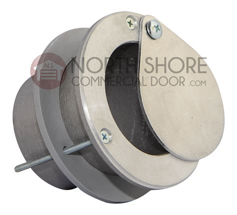 Garage Door Exhaust Port 3 Inch Aluminum Vent Assembly For Up To 2 Inch Thick Doors