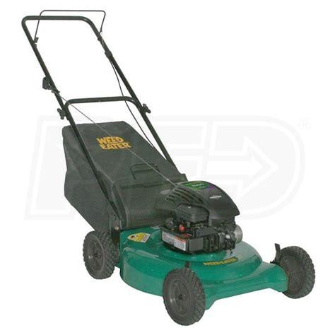 weed eater 961320054 21 inch 158cc 2 n 1 push lawn mower