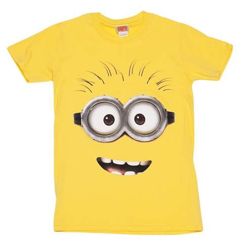 Setelan Hm 2 T Shirt Minion s yellow despicable me dave minion t shirt