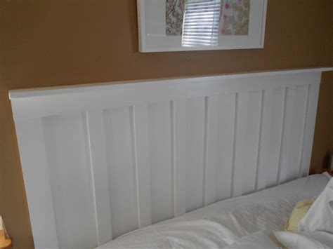Faux Wainscot Headboard Home Bedroom Headboard Ideas