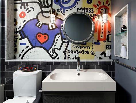 graffiti interiors home art murals  decor ideas