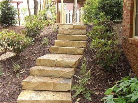 Backyard Steps Ideas by Outdoor Stairs Design For Your Backyard Backyard And Patios