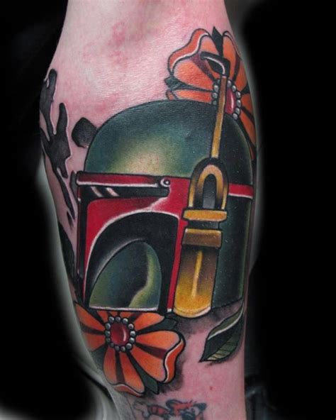 boba fett tattoos pin by barbara schuckar on