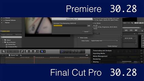 Adobe Premiere Cs6 Vs Apple Final Cut Pro X Speed Test | adobe premiere cs6 vs apple final cut pro x speed test
